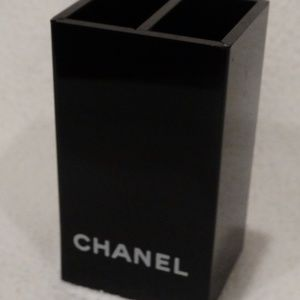 "CHANEL 2 Compartment Container 4"" x 2""x 2"""